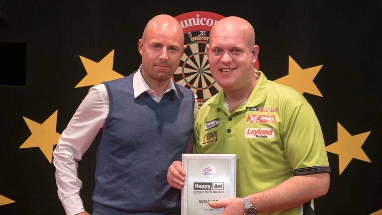 Michael van Gerwen proved peerless in another weekend of darting dominance in Germany