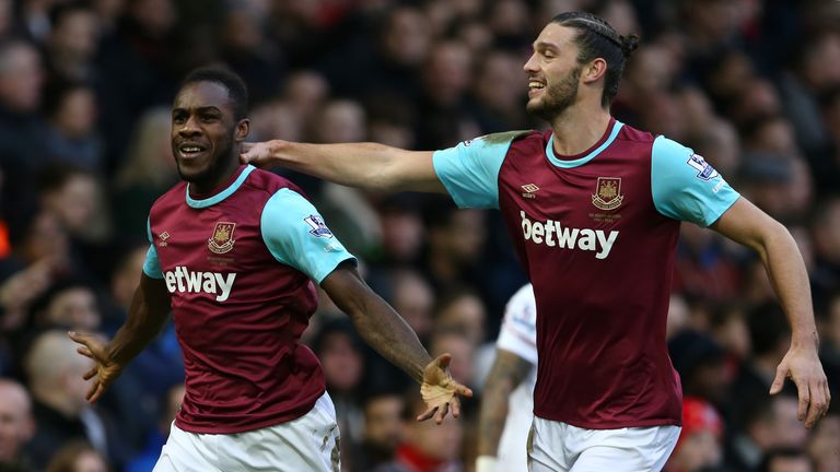 Antonio has been in flying form this season, notching nine goals