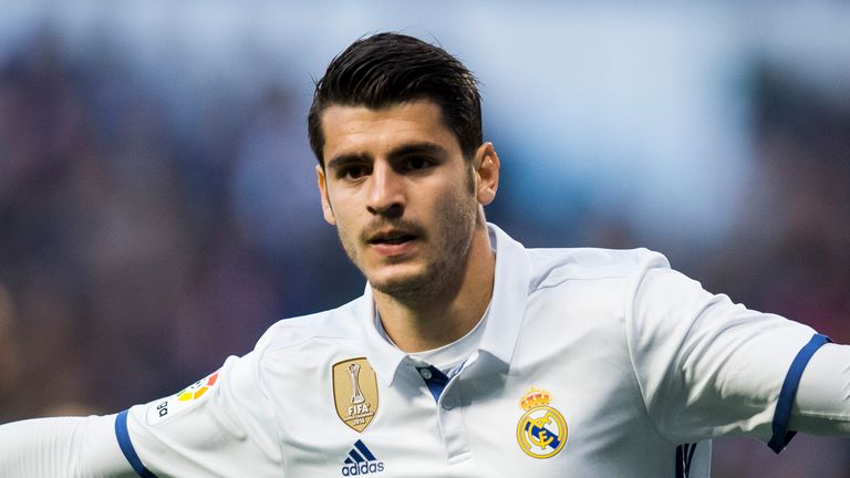 Manchester United have failed in a bid for Real Madrid striker Alvaro Morata, according to Sky in Italy