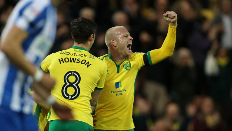 Norwich City's Steven Naismith (right) is suspended.