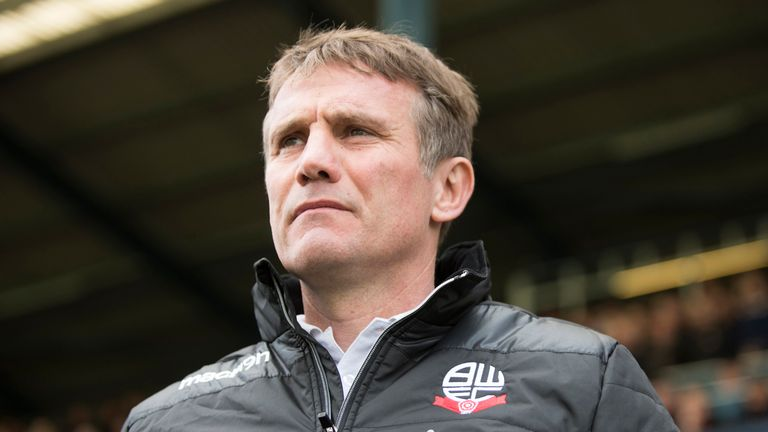 Phil Parkinson, the Bolton manager, can now spend in January