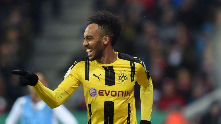 Dortmund's Gabonese striker Pierre-Emerick Aubameyang says no decision has yet been made regarding his future