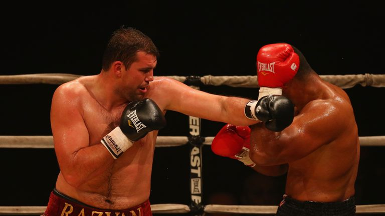 Razvan Cojanu has been brought in as a replacement for the injured Hughie Fury