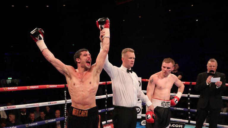 Ryan Mulcahy beat Andy Keates