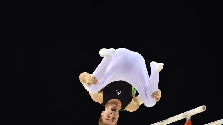 Sam Oldham has battled back from serious injury at the 2014 Commonwealths