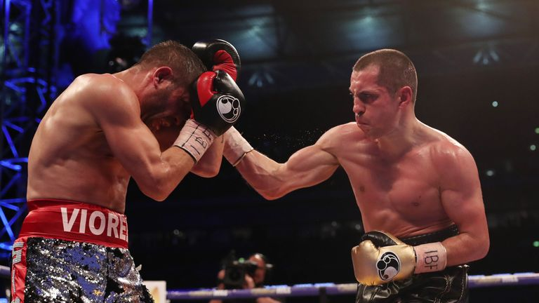 Scott Quigg battled to a hard-fought points win over Viorel Simion in April