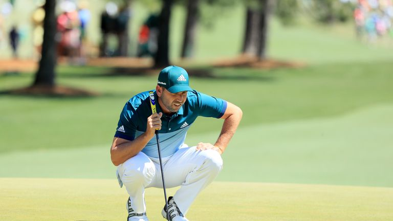 Garcia had accepted he may not be able to land an elusive major