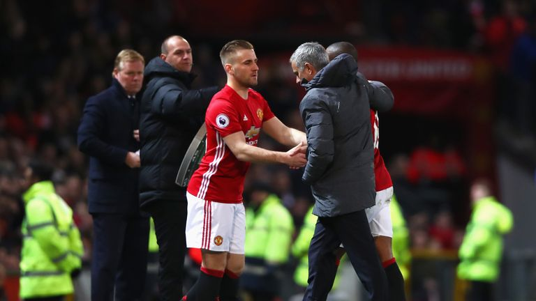 Mourinho was once again critical of Shaw's performance following the 1-1 draw with Everton