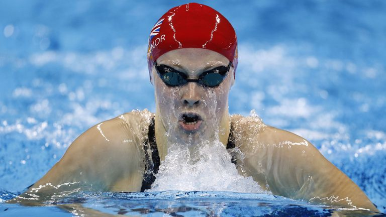 Siobhan-Marie O'Connor was disqualified in the 200m IM final