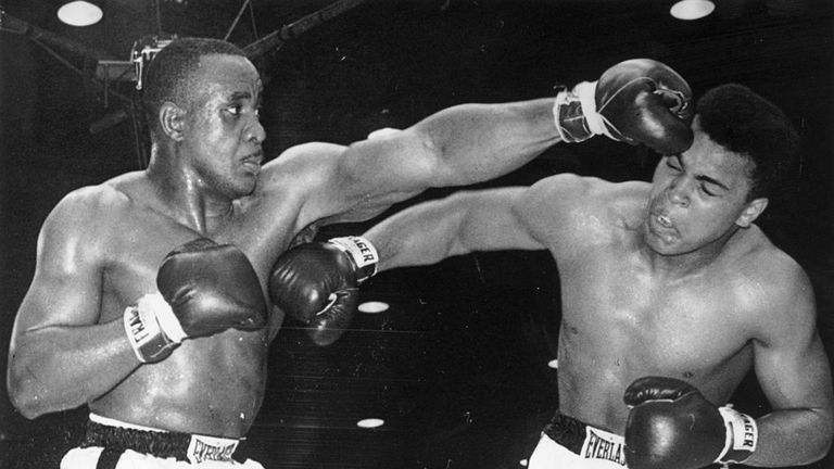 Sonny Liston was the last man to face Cassius Clay in their first one