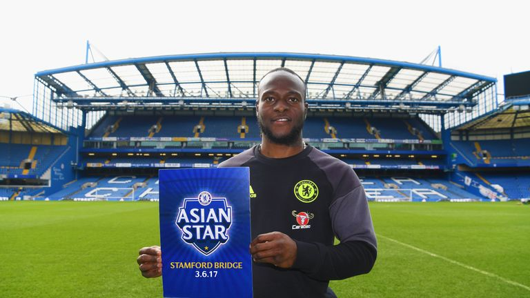 Chelsea's Victor Moses pledged support for 2017 event at Stamford Bridge