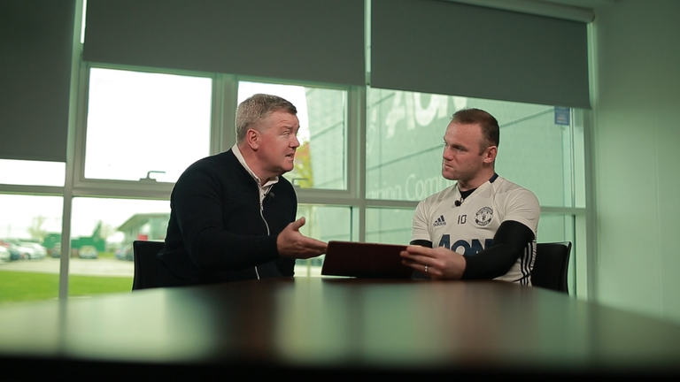 Geoff Shreeves sat down with Wayne Rooney ahead of the Manchester derby - watch the full interview on Thursday from 7pm on Sky Sports 1