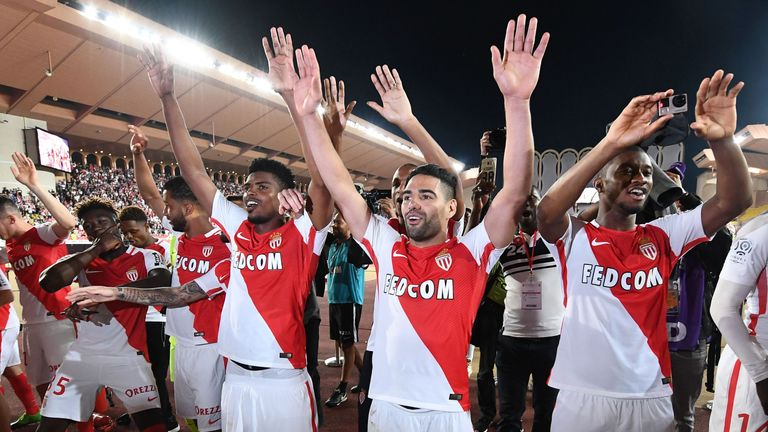 Monaco are the French champions