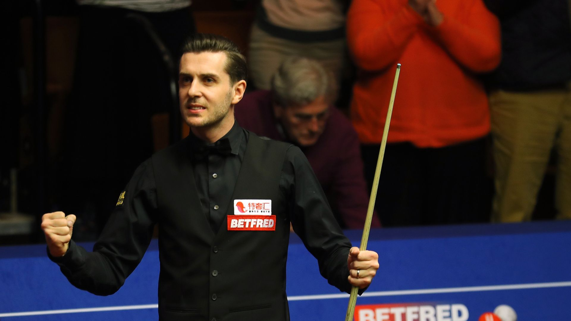 Selby: Crucible without fans quite surreal