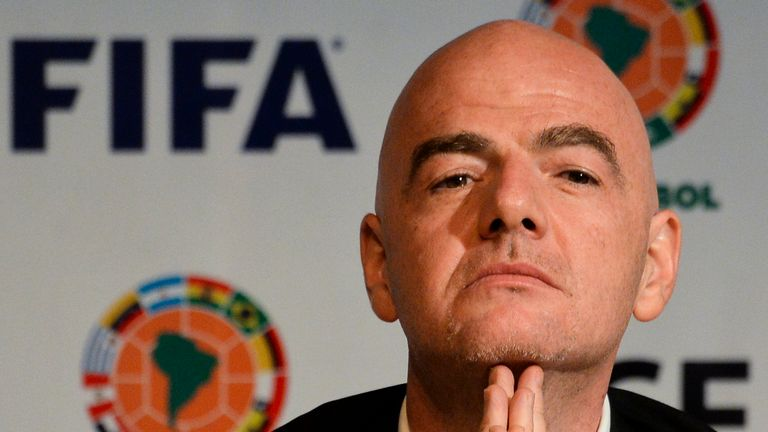 FIFA president Gianni Infantino is open to the idea of expanding the 2022 World Cup in Qatar