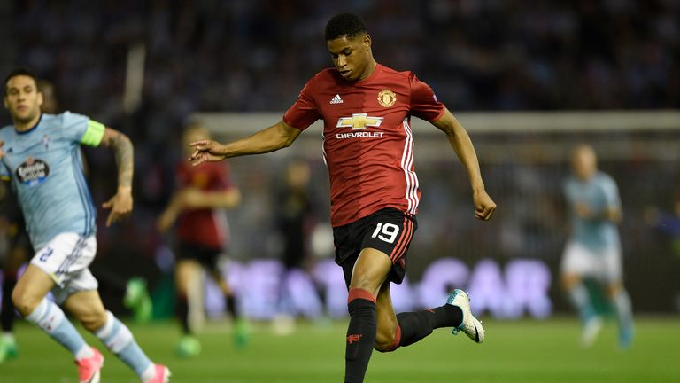 Rashford revelled in the responsibility for United in their semi-final victory