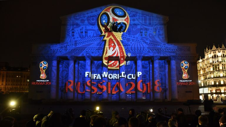 The draw for next summer's World Cup in Russia will take place in Moscow on December 1
