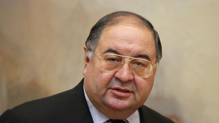 Arsenal director Usmanov has also denied the claims