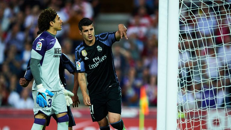 What does the future hold for Real Madrid striker Alvaro Morata?