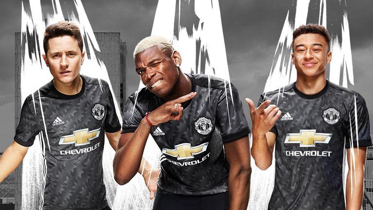 Manchester United release new away kit for 2017-18 season  47c33d433