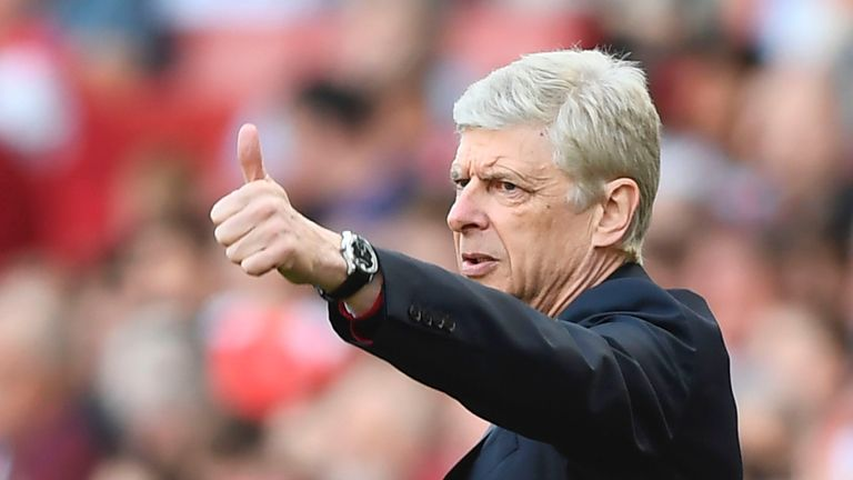 Arsene Wenger has not lost at home against Tottenham in seven years