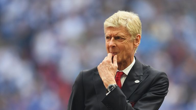 Wenger has signed a new two-year deal to stay at Arsenal