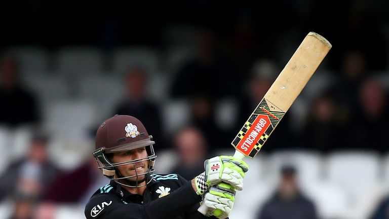 Ben Foakes top=scored for Surrey as they got the better of Kent at The Oval