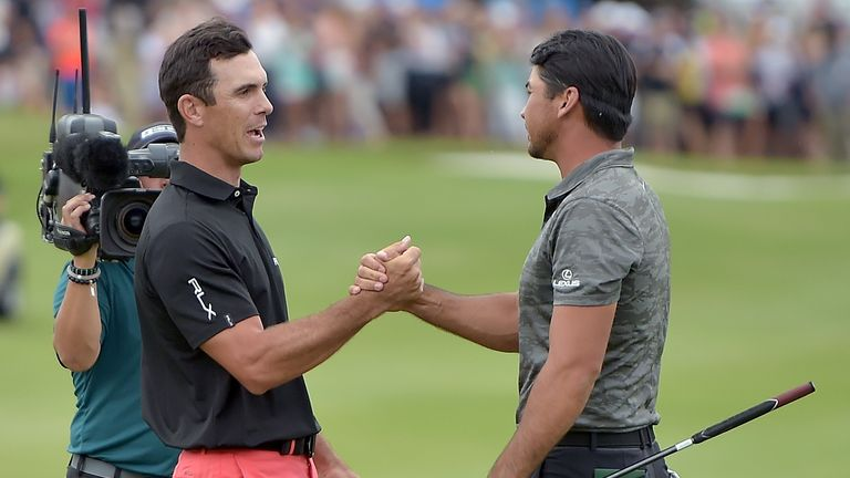 Billy Horschel defeated Jason Day in a playoff to win the AT&T Byron Nelson last year