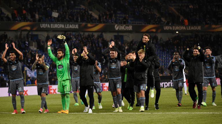 Man Utd face Celta Vigo in the Europa League semi-finals