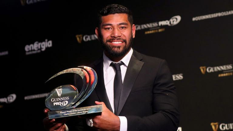 Guinness Players' Player of the Season Charles Piutau