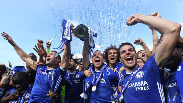 Get the inside track on Chelsea's title win with our special documentary