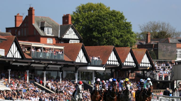 Chester Racecourse will be part of the new Sky Sports Racing channel