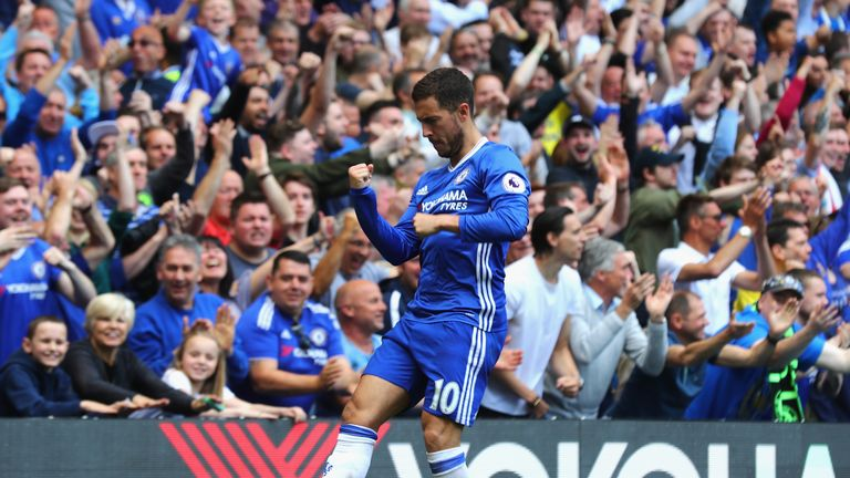 Eden Hazard will be a key figure for Chelsea