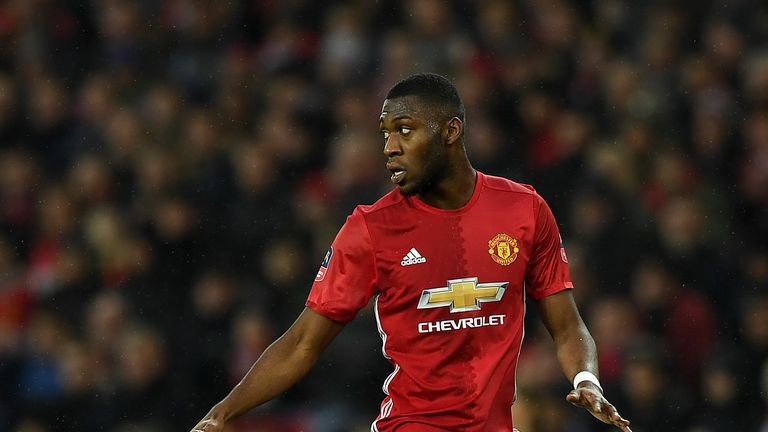Fosu-Mensah has made 21 appearances for Manchester United