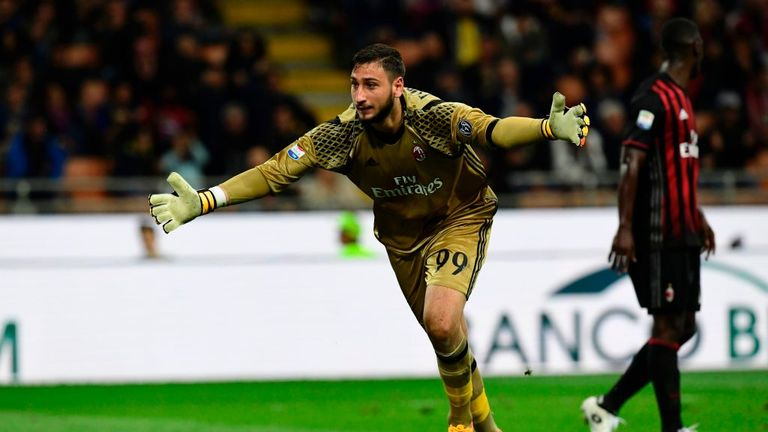 Gianluigi Donnarumma has agreed to sign a new contract at AC Milan