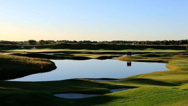 Le Golf National, venue for next year's Ryder Cup, hosts this week's Open de France