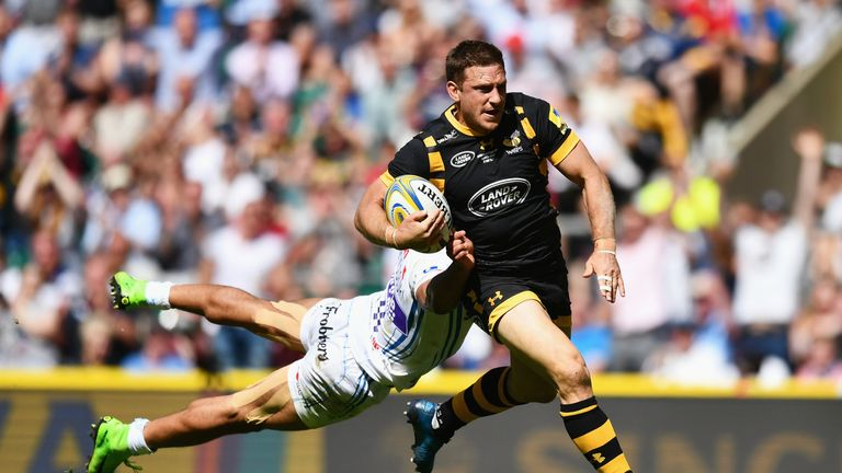 Jimmy Gopperth scores for Wasps