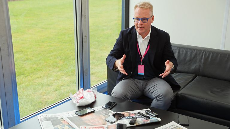 Keith Pelley is in discussions with the LPGA to help the Ladies European Tour