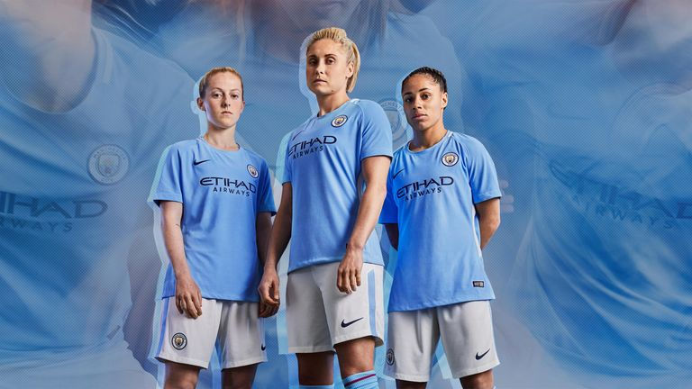 Manchester City Women will be the first team to wear the new kit on  Wednesday night 84f6bbd79