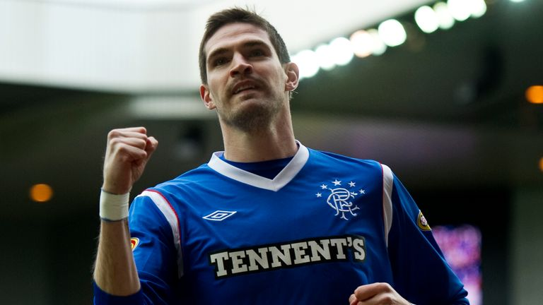 Former Rangers forward Kyle Lafferty could return to Scotland to play for Hearts