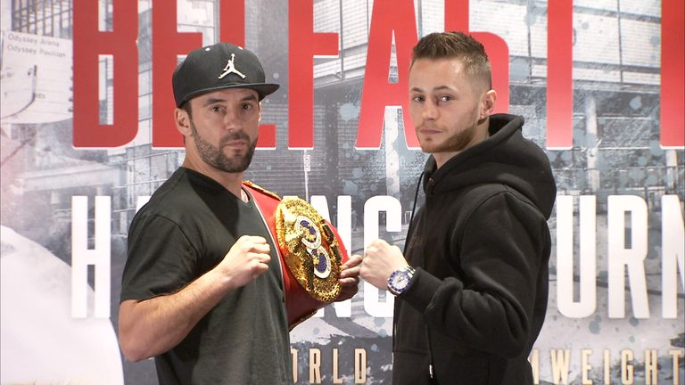 Ryan Burnett challenges IBF bantamweight champion Lee Haskins