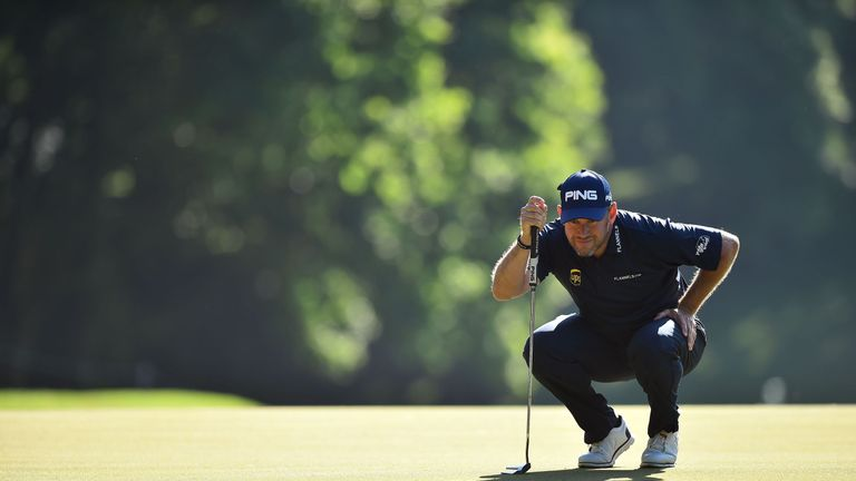 Lee Westwood leads the English interest on five under