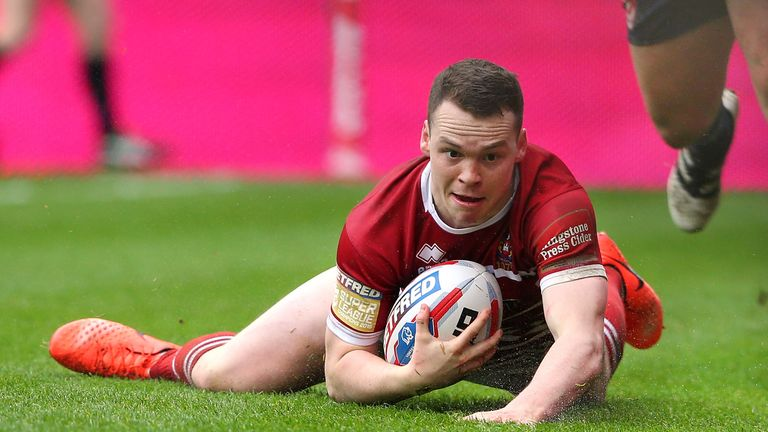 Liam Marshall has come through the ranks at Wigan