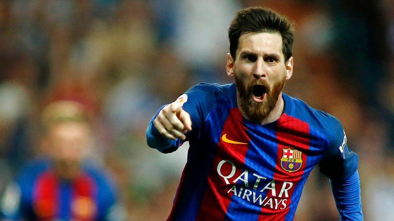 Lionel Messi scored 37 goals in La Liga for Barcelona