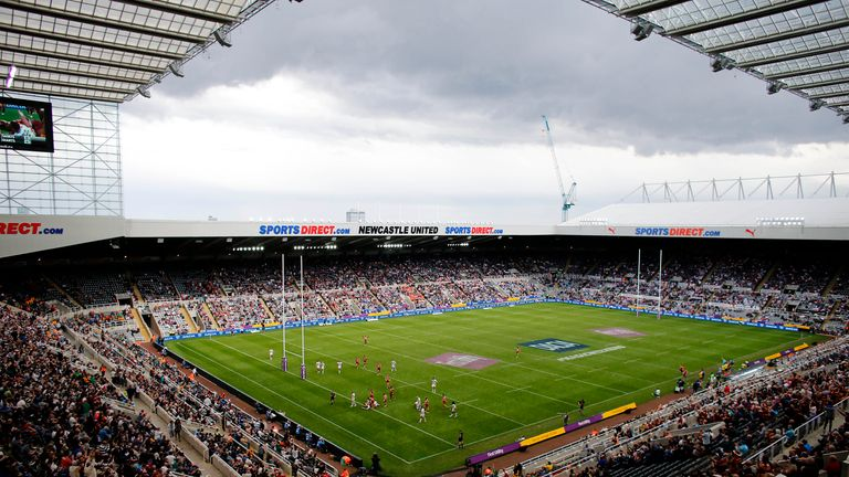 St James' Park in Newcastle will host the Dacia Magic Weekend for the fourth successive year