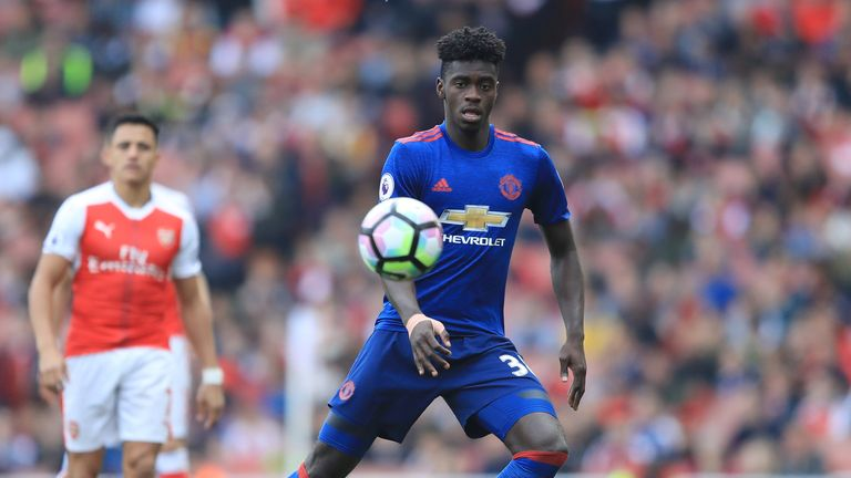 Axel Tuanzebe came in for praise from former United defender Gary Neville