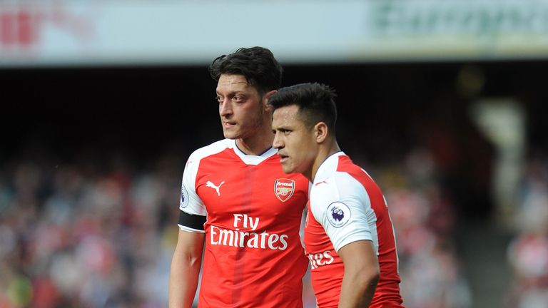 Alexis Sanchez and Mesut Ozil have both been linked with moves away from Arsenal