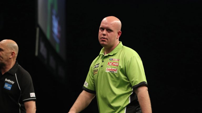 Van Gerwen could be a doubt for the Grand Slam of Darts next month
