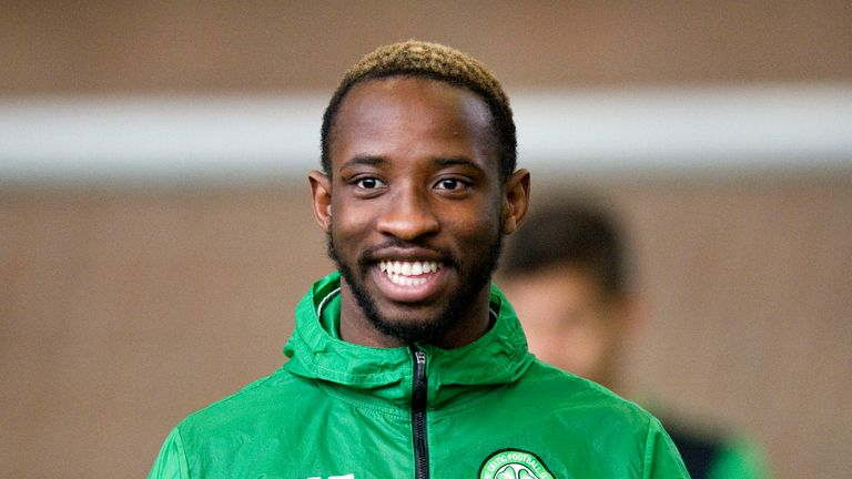 Celtic's Moussa Dembele is named in the PFA Scotland Team of the Year