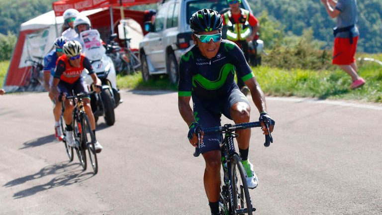 Nairo Quintana hopes to bounce back from Giro disappointment